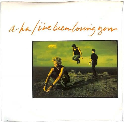 A Ha I Ve Been Losing You 7 Inch Vinyl Single Sleeve Front