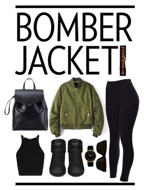 """BOMBER JACKET  