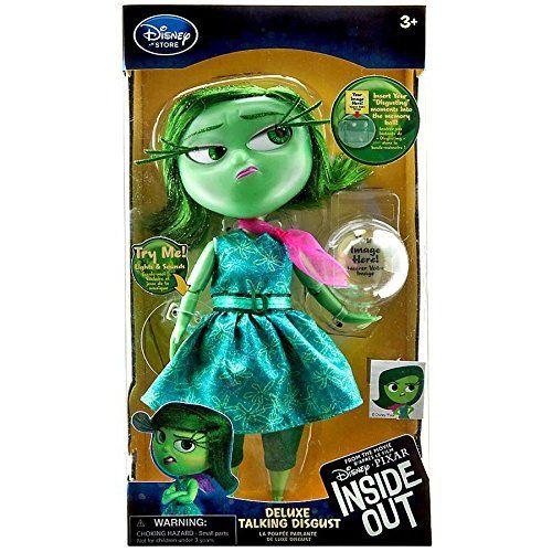 Disney / Pixar Inside Out Disgust Talking Action Figure