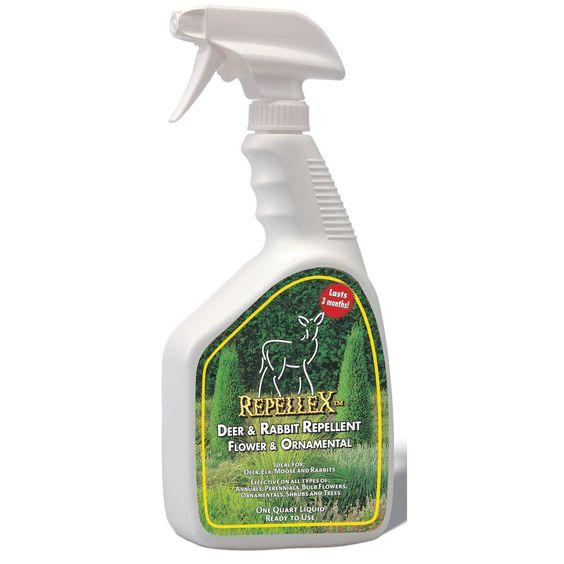 Repellex 10001 1-quart Deer & Rabbit Repellent Original Formula RTU