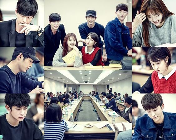 Pembacaan Skenarorio di drama korea cheese in the trap:
