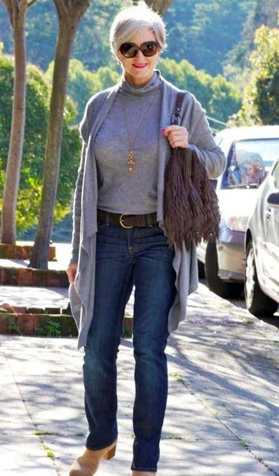 Casual Winter Outfit For 50 Year Old Woman Clothes For Women Over 50 Brilliant Clothing Clothes For Women