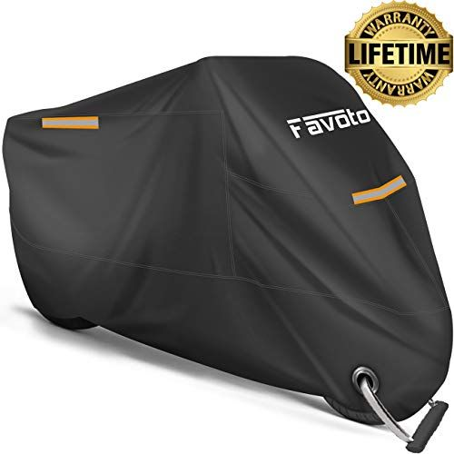 Favoto Motorcycle Cover All Season Universal Weather Premium Quality Waterproof Sun Outdoor Protection Dura Motorcycle Cover Vehicle Covers Online Shopping Usa
