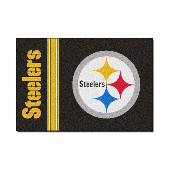 Pittsburgh Steelers Uniform Inspired Area Rug