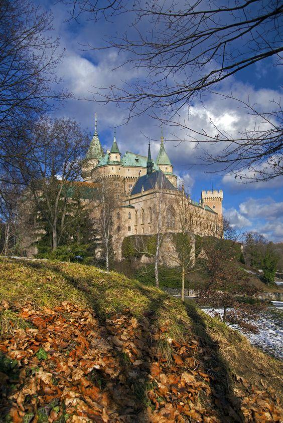 Slovakia - Igor Supuka 166 - Europe, Slovak republic, central Slovakia, Bojnický castle in Bojnice village nearby Prievidza city