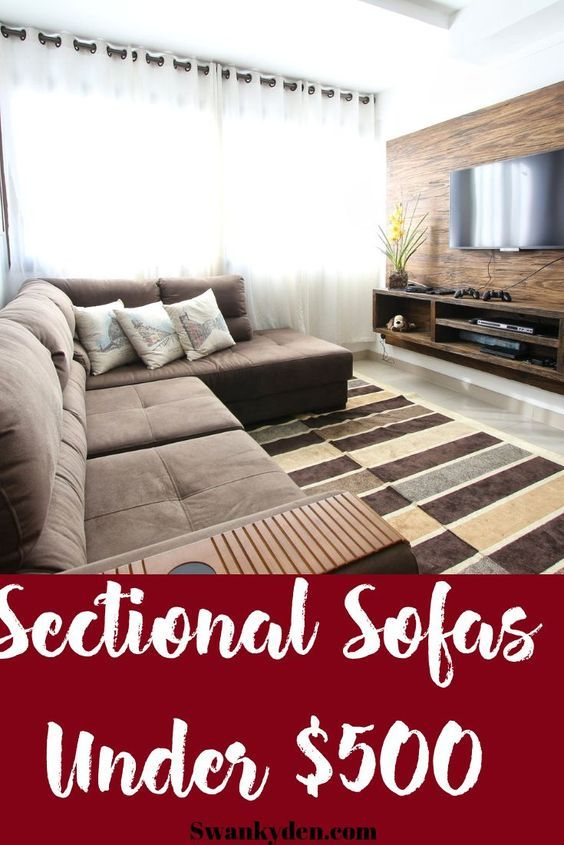 Best Cheap Sectional Sofas Under 500 You Ll Love 2020 Sofas For