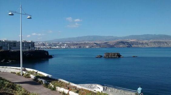 Paradise! #Oceanside #Quiksilver #SurfSchool #LasCanteras #Beach #LasPalmas #GranCanaria #CanaryIslands #Surf