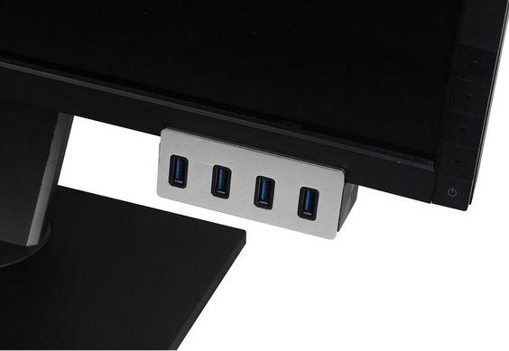 Clip-on USB 3.0 4-Port Aluminum Hub X 1