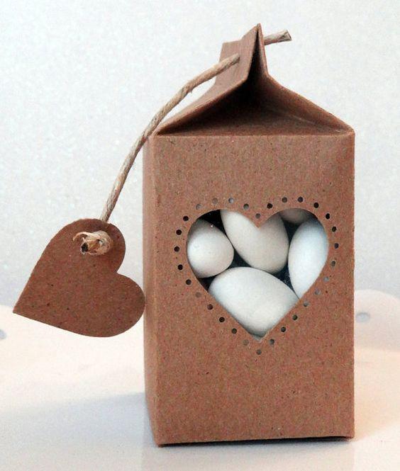 Faveur de cartons de lait | Faveurs de mariage | Faveurs de douche | Anniversaire faveurs