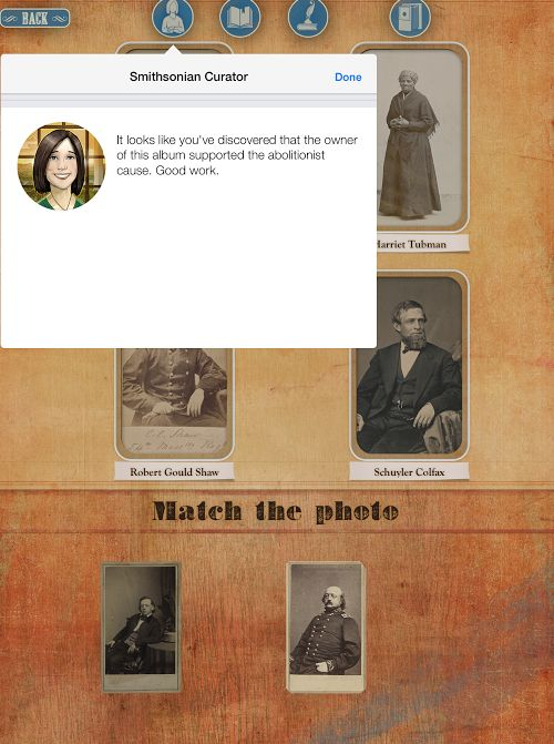 Ripped Apart is a free iPad app from the Smithsonian National Museum of American History. The app is a game in which students play the role of a Smithsonian intern tasked with examining documents a...