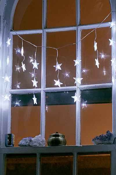 Battery Powered String Lights Urban Outfitters : Battery Powered Light Star Curtain String Lights Urban outfitters, Awesome stuff and String lights