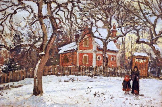 CP 1870 Châtaignier à Louveciennes 3c fl - Paris, Musée d'Orsay - photos-galeries | par petrus.agricola