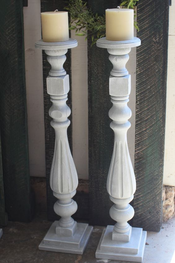 I'm calling these Venetian because they have a lovely layer of venetian plaster to add rich texture.