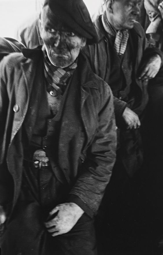 Robert Frank, Welsh Miners, Ben James, 1953
