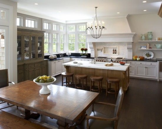Traditional Kitchen Designs Hearth And Traditional Kitchens On