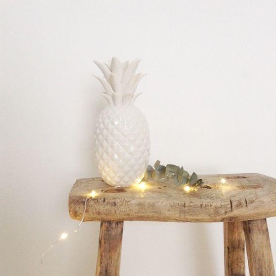 Ananas en céramique chez Le RepèRe des BeleTtes