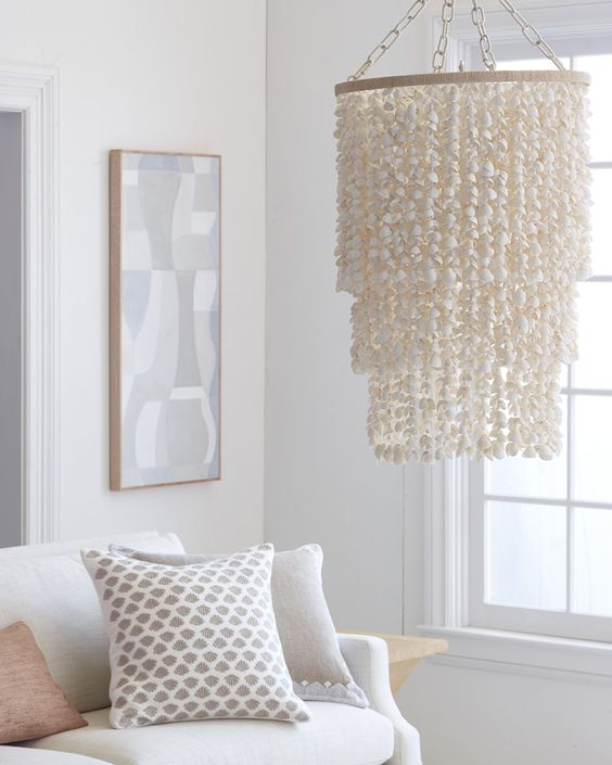 Aptos Shell ChandelierAptos Shell Chandelier #Remodeling #kitchenremodeling