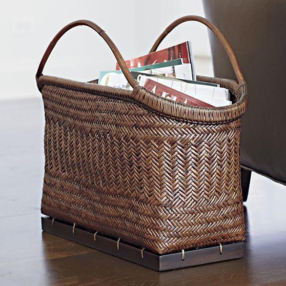 Incredibly Amazing Pramana Magazine Basket Check More At Https