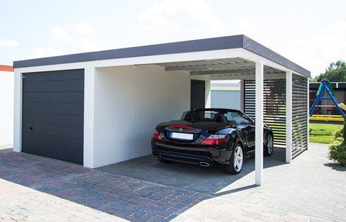 Design Metall Carport Mit Vordach Aus Holz Stahl Paris Frankreich Stahlzart Detail Vordach Metallcar Moderne Garage Uberdachung Hauseingang Vordach Hauseingang