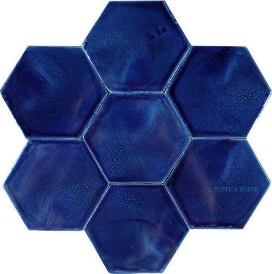 Ceramic Tile Hacienda Solid Blue Ceramic Tiles Decorative Ceramic Tile Blue Clay