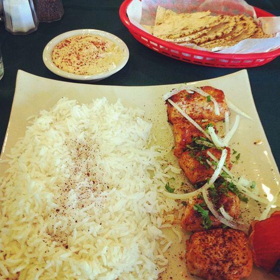 Mediterranean food @ Tonir Cafe (Burbank, CA)
