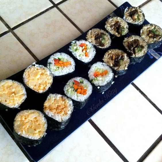 Vegan Sushi Recipe Free