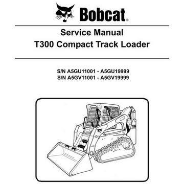 Bobcat Manual Cleaner Service Repair And Maintenance Control Valves