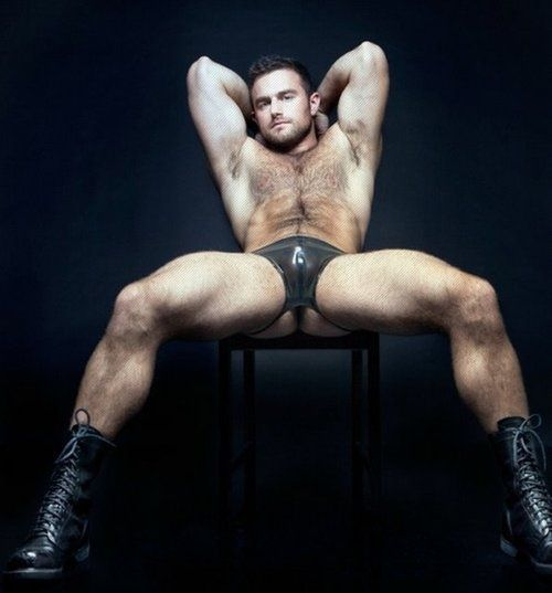 Muscle leather daddy