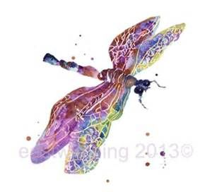 DRAGONFLY Art, mothers day, nature, purple dragonfly, dragonfly paint ...