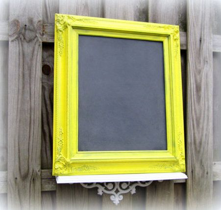 Chic FARMHOUSE CHALKBOARD Decor MaNY CoLORS by RevivedVintage, $119.00