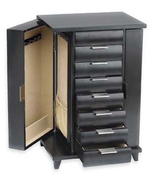 the best jewelry boxes cherries neutral colors and hooks. Black Bedroom Furniture Sets. Home Design Ideas