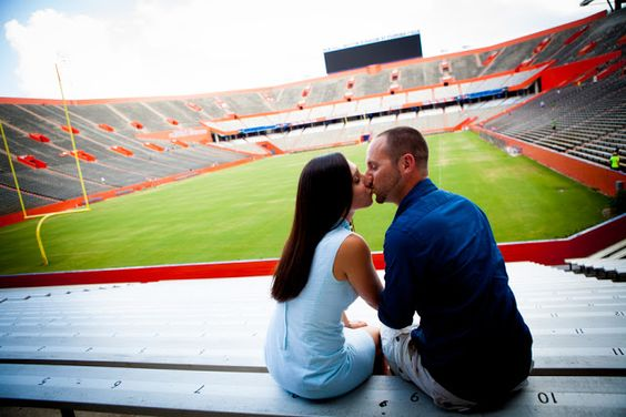 University of Florida Engagement Photos: Elli + Scott