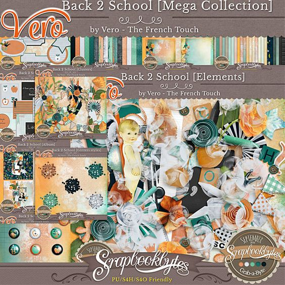 Back 2 School - Setpember GAB - 1 $ per pack only - Exclusively @ http://bit.ly/VeroSBB