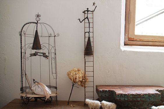 lamps by Pascale Palun - so full of curiosity and whimsy