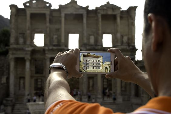 Ancient Ephesus, digitally remastered, only on our NEW high-def tours. #RoyalShoreEx