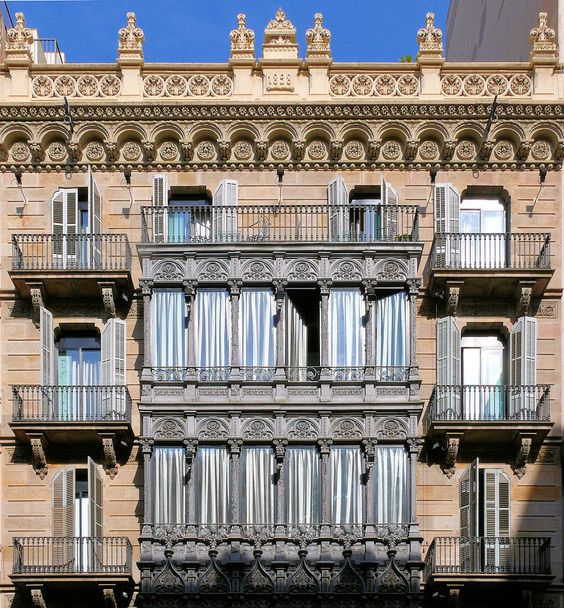 Casa Emilia Carles  1898  Architect: Emili Sala i Cortés