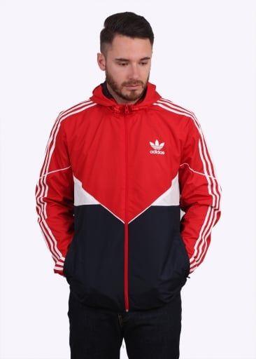 Adidas Originals Apparel CRDO Windbreaker - Vivid Red
