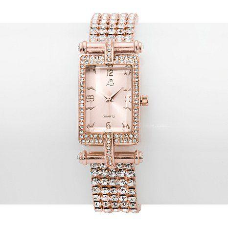 "Colleen Lopez ""Very Important Date"" Bracelet Watch"