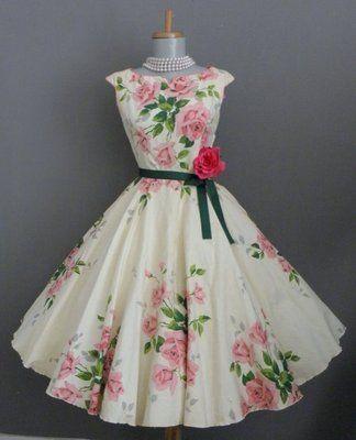 50's Swing Dress