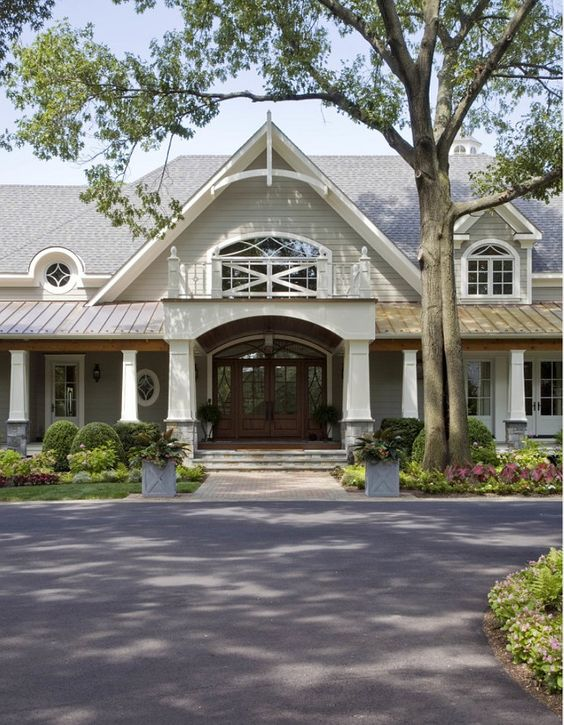 Exterior Paint Color. Exterior Paint Color Ideas. The siding color is James Hardi Monterrey Taupe. The trim is painted with the color Benjamin Moore Linen White.  #JamesHardiMonterreyTaupe #ExteriorPaintColor  Riley Custom Homes & Renovations.
