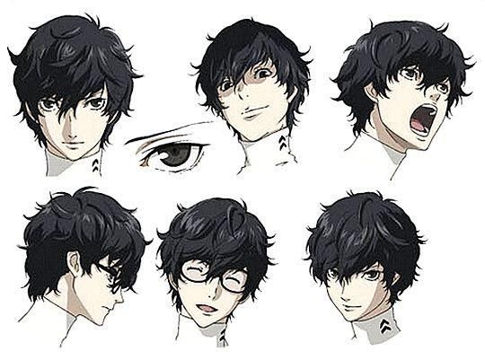 See More Ideas About Anime Hairstyles In Real Life Anime Hair And Anime This Anime Character Is Bald And Still So P In 2020 Persona 5 Anime Hair Anime Hairstyles Male