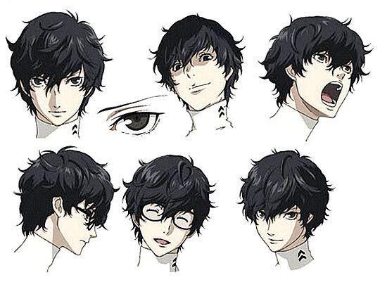 Pin On Anime Haircut Guy