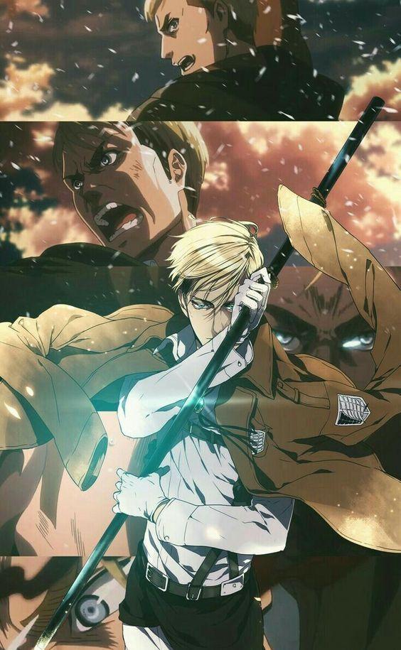 Andriodとiosの最高の壁紙 Ɛºå¸¯é›»è©±pc 4kフルhdの最高の壁紙 In 2020 Erwin Attack On Titan Attack On Titan Anime Attack On Titan Art