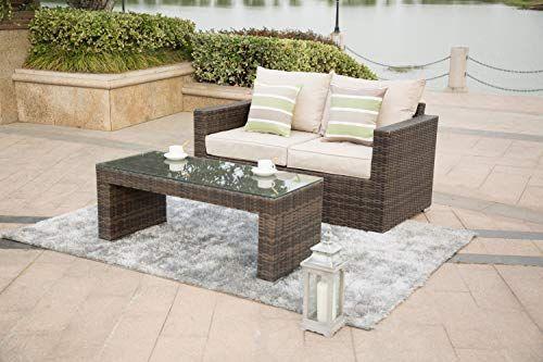 Direct Wicker Patio Uv Resistant Wicker Rattan Furniture Set