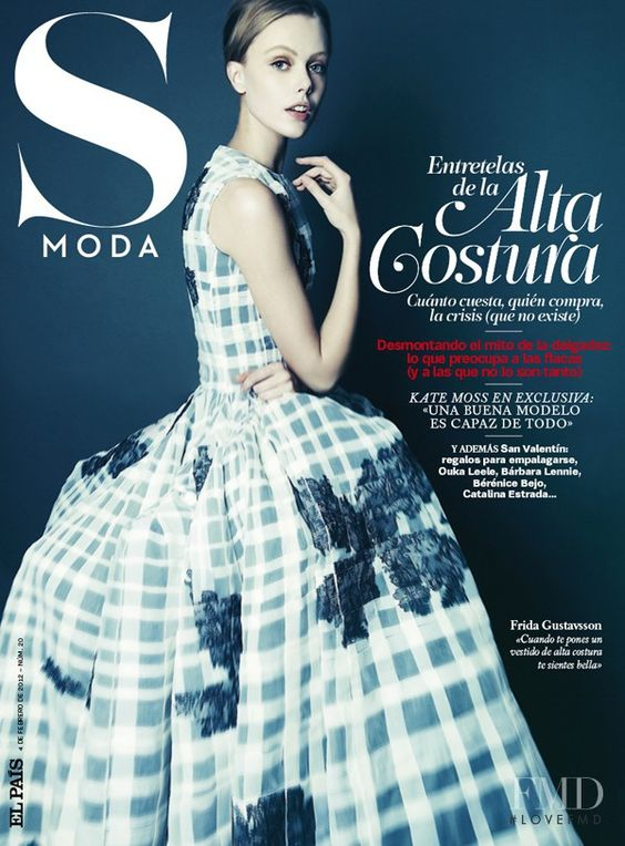 Covers of S Moda with Frida Gustavsson, Feb 2012