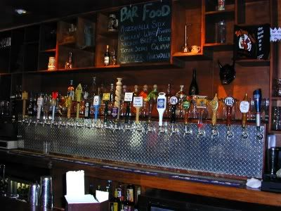 back draft bar beer display - Google Search