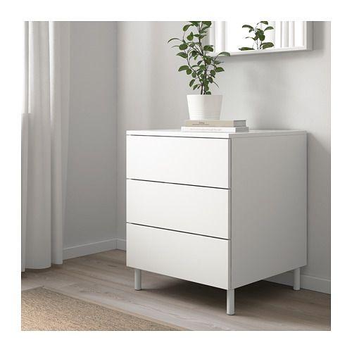 Platsa Chest Of 3 Drawers White Fonnes White Ikea Kommode Schubladen Weisse Mobel