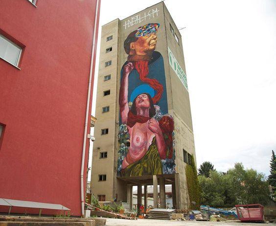Eversiempre - New Mural in Graz, Austria