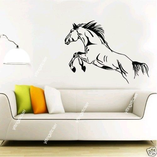 horse Vinyl Home Wall Art Decal Sticker Mural by yitingsticker, $15.99