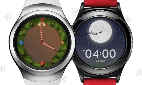 La Samsung Gear S2 célèbre Noël !